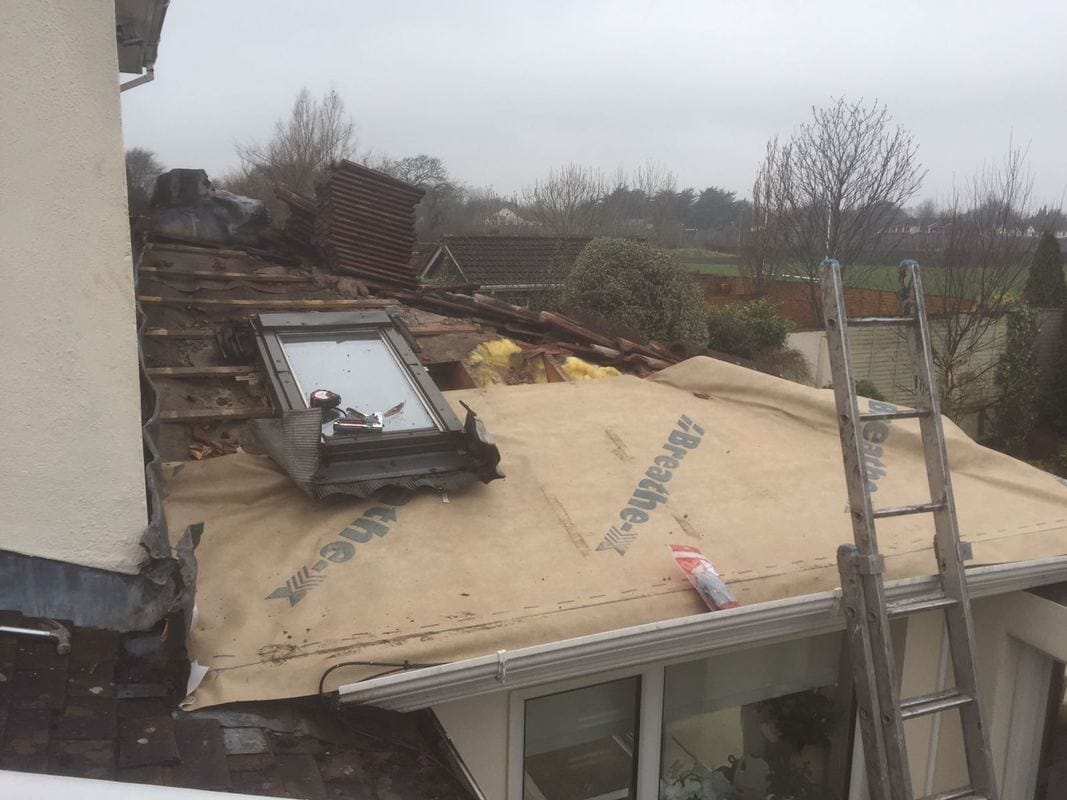 Extension Roof Repairs Dublin